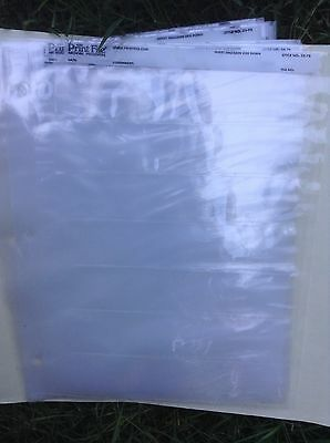 Print File Archival 35mm Slide Preservers, Lot of 17 pages-NEW