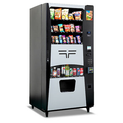 "Used  3548 Futura Drink/Snack Combo Machine    34.5""W X 72"" H X 29 5/8"" D"