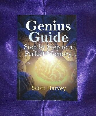 Genius Guide: Step by Step to a Perfect Memory by Scott Harvey (Paperback, 2013)