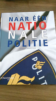 Boek Nederlandse Nationale Politie,Book Netherlands National Police organisation
