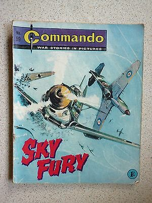 1. very old Commando war comic.