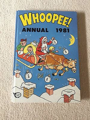 The Whoopee! Annual 1981..... Vintage Gift - Excellent Condition