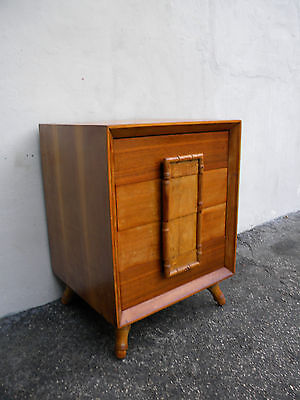 Hollywood Regency Mid-Century Small Dresser / Large Nightstand 6007