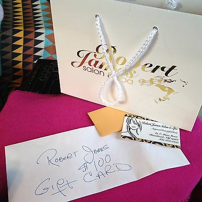 Robert James Spa GIFT CERTIFICATE , Riverhead NY, Long Island NO EXP💃🏻💕