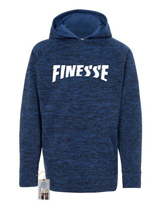Finesse Youth Cosmic Fleece Hooded Pullover Boys Girls Sweatshirt