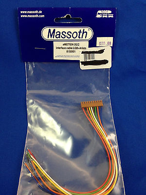 G Scale Massoth eMOTION DCC Interface Cable LGB+Aristo Part# 8150501