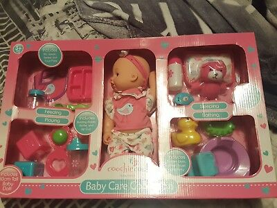 Coochie coo baby doll set