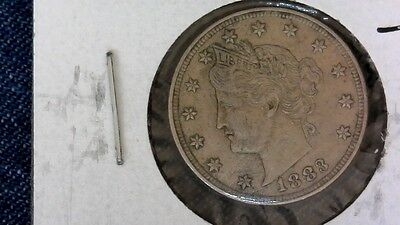 1883 Without Cents Liberty Head Nickel