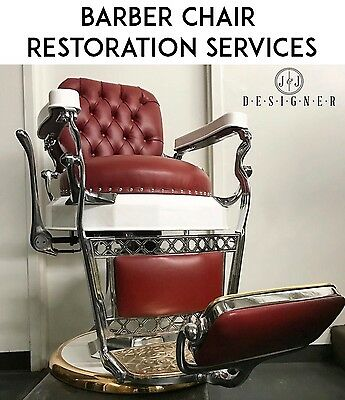 Barber Chair Restoration Services - Koken, Koch, Belmont, Paidar, Hercules