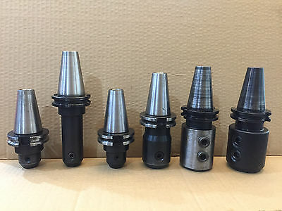 Set of 6 CAT 40 tool holders