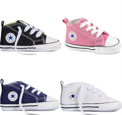 Baby Chuck Taylor Converse All Stars Trainers Gift Box Shoes 1 to 12 Months
