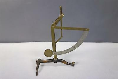 Vintage Antique Brass Pendulum Postal Scale (No Accessories) Made Germany Depose