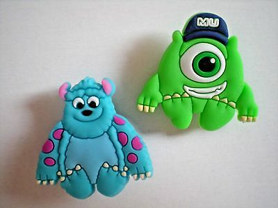 Jibbitz Croc Clog Shoe Charm Disney University Monster For Accessories Wristband