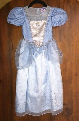 Disney Store Cinderella Princess Costume Dress Gown Size 3-4 years