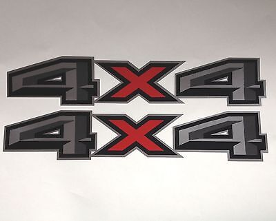 4x4 Off Road Truck Decals (1 Set of 2) FORD DODGE CHEVY
