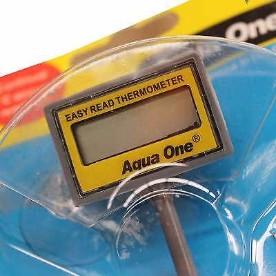 Aqua One Easy Read Aquarium Digital Thermometer