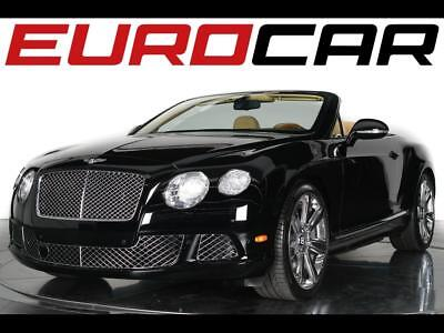 2013 Bentley Other GTC Convertible 2-Door 2013 Bentley Continental GTC - One-owner, Saffron Leather Interior, Stunning!