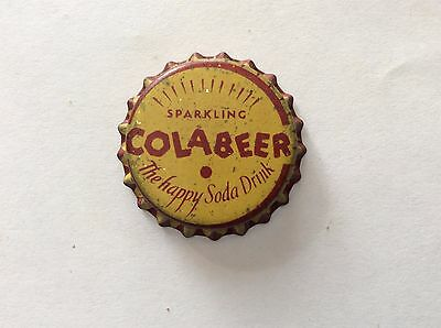 Colabeer  Soda   Bottle Cap -     Unused   -  Cork Lined