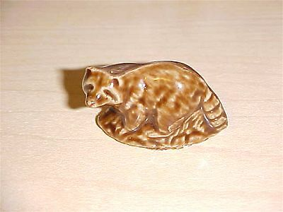 Wade Red Rose Tea collection Miniature Raccoon collectible figurine