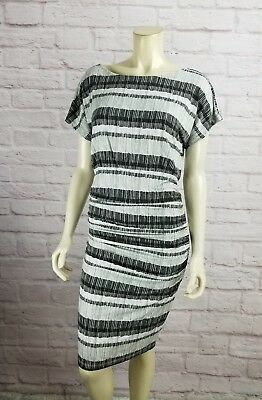 Isabella Oliver Maternity Larch Printed Ruched Dress Size 2 Small