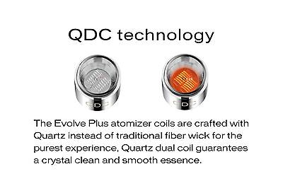 Yocan Evolve Plus QDC Coils 1 to 5 PACK available 100% Authentic, FREE SHIPPING