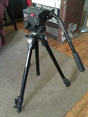 Manfrotto 301BN Tripod with 501 Pro Video Fluid Head