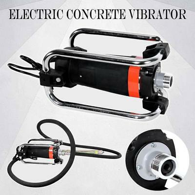 16000RPM Electric Concrete Vibrator Tool to Remove Air Bubble w/ 14-3/4 Ft Poker