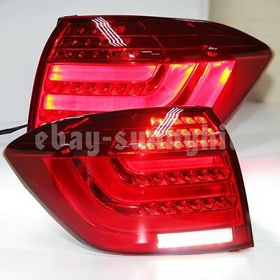 2012 to 2013 Year For TOYOTA Highlander Kluger LED Tail Lights Lamp Assembly Red
