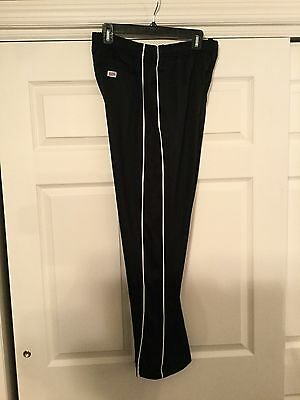 NWOT Soffe Junior Track/Warm Up Pants, Size Junior Large.  Black W/ White Stripe