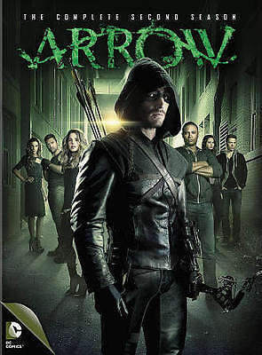 Arrow: The Complete Second Season (DVD, 2014, 5-Disc Set)FREE SHIPPING