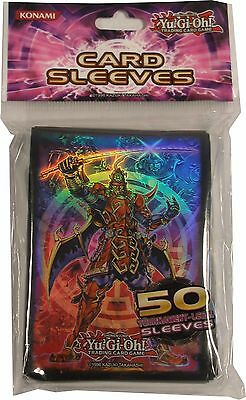 Konami YuGiOh Official Card Sleeves Legendary Six Samurai 1 pack of 50 pcs