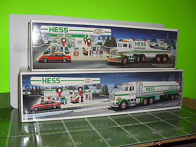1991 Hess Toy Truck And Racer & 1990 Hess Toy Truck Tanker