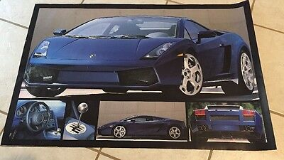 2003 Lamborghini Gallardo Print Picture Poster Game room Decor Man cave