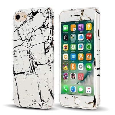 360° Shockproof Full Body Hybrid Tempered Glass Case Cover For iPhone 5 6 8 Plus
