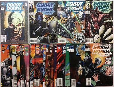 Ghost Rider 2099 #1 to #25 near complete series (1994 Marvel) 23 x issues.