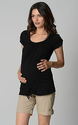 **Drawstring Maternity Top**  - Sz XXL WHITE NWT