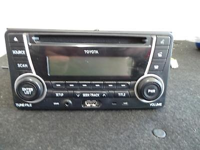 Toyota Kluger Radio/cd/dvd/sat/tv Cd Player, W/ Bt And Usb, Gsu40-Gsu45, 08/07-0