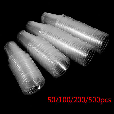 50/100/200/500X Clear Plastic Disposable Drink Cup Water Juice Party Wholesale