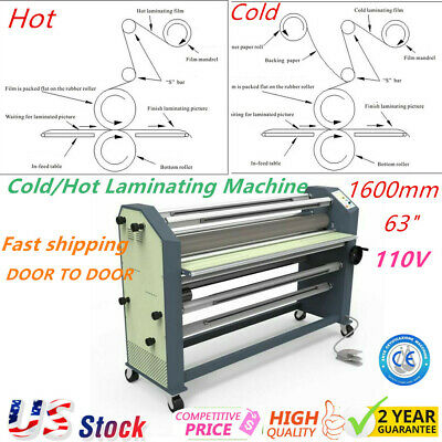 """US Stock - Ving 63"""" New Type Full - auto Wide Format Hot / Cold Laminator"""