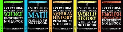 Big Fat Notebooks Everything You Need to Ace MIDDLE SCHOOL Study Guide Set 1-5