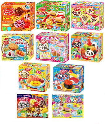 Kracie Popin Cookin Kits Of Your Choice DIY Japanese Candy 11items Happy Kitchen