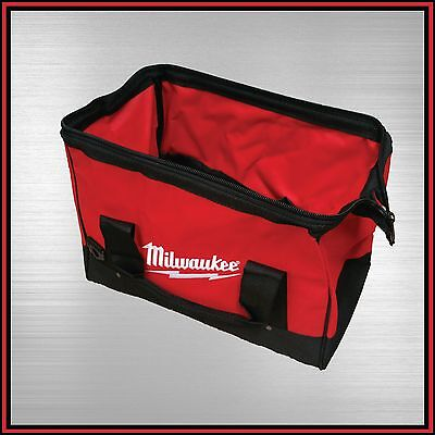 "Milwaukee Contractor Tote Tool Bag 16"" 400Mm Heavy Duty Nylon One-Key"