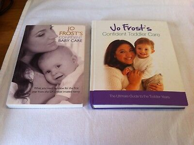 Jo Frost's Confident Baby & Toddler care Books