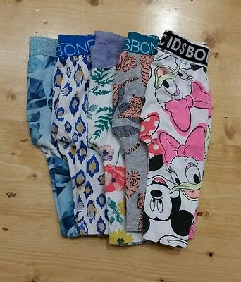 Bonds stretchies leggings x 5 Bulk 00 3-6months *inc DISNEY*
