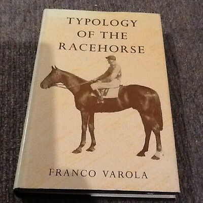 Typology of the Racehorse by Franco Varola - book