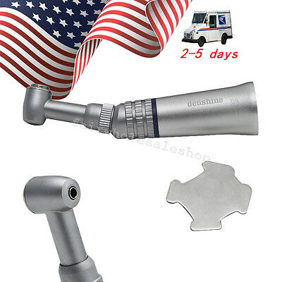 Dental Contra Angle Push Anti-Slip for Low Speed Handpiece Air motor US Stock