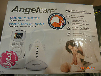 Angelcare Baby Digital Sound Monitor AC420 (Voice activated new and unused