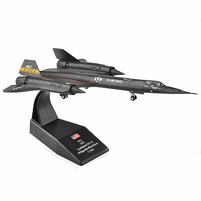 AMER 1/144 Scale USA 1971 lockheed YF-12 Wikipedia Blackbird Aircraft Model