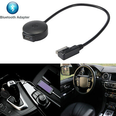 AMI MDI to Bluetooth Music Adapter USB Female Interface Cable for VW Audi AC847