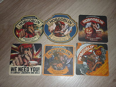 "lot de 6SB de UK bière ""HOBGOBLIN"""